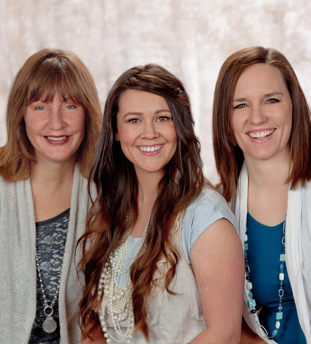 Doulas Robynne Carter, Rachel Britton, & Angie Rosier